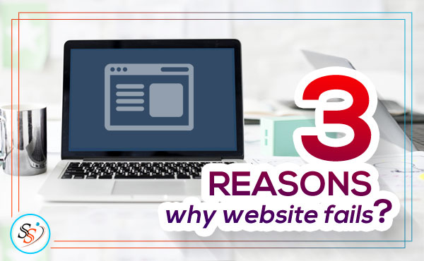 Reasons why website fails